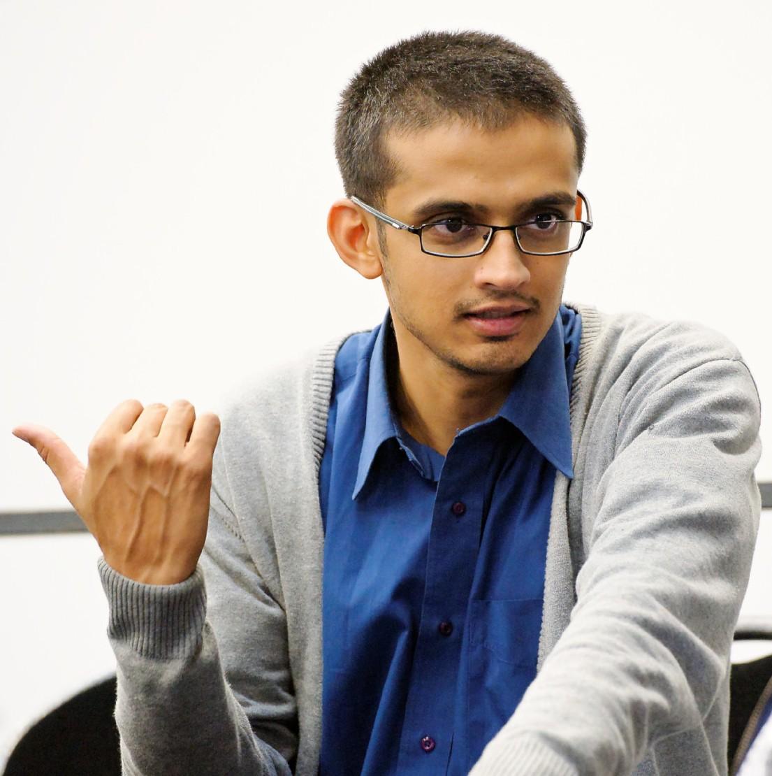 Pranav Gajar, alumnus of oikos Ahmedabad