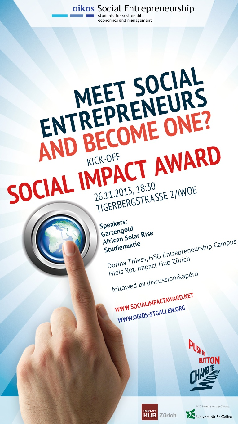 26 11 2013: Meet Social Entrepreneurs – and become one