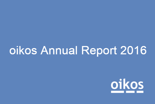 oikos Annual Report 2016