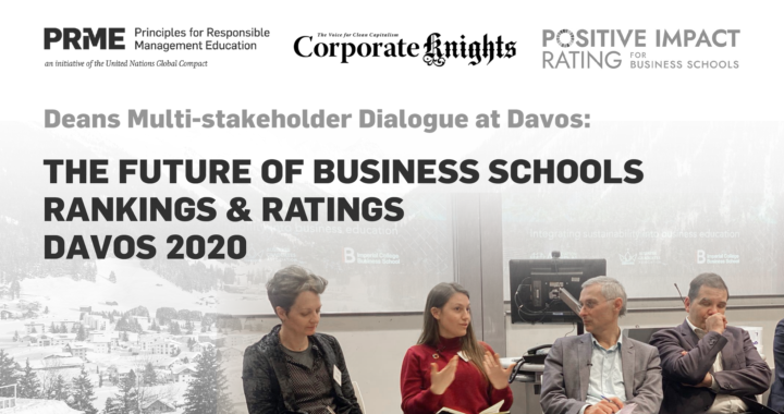 The Future of Business Schools Rankings & Ratings – Davos 2020 Report