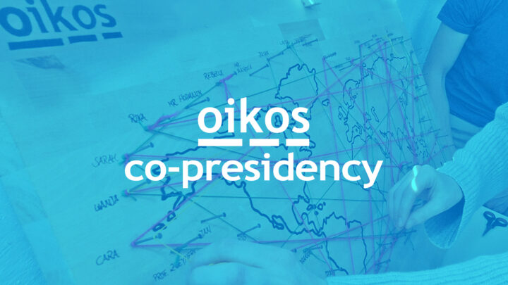Never Lead Alone – oikos shift to co-presidency