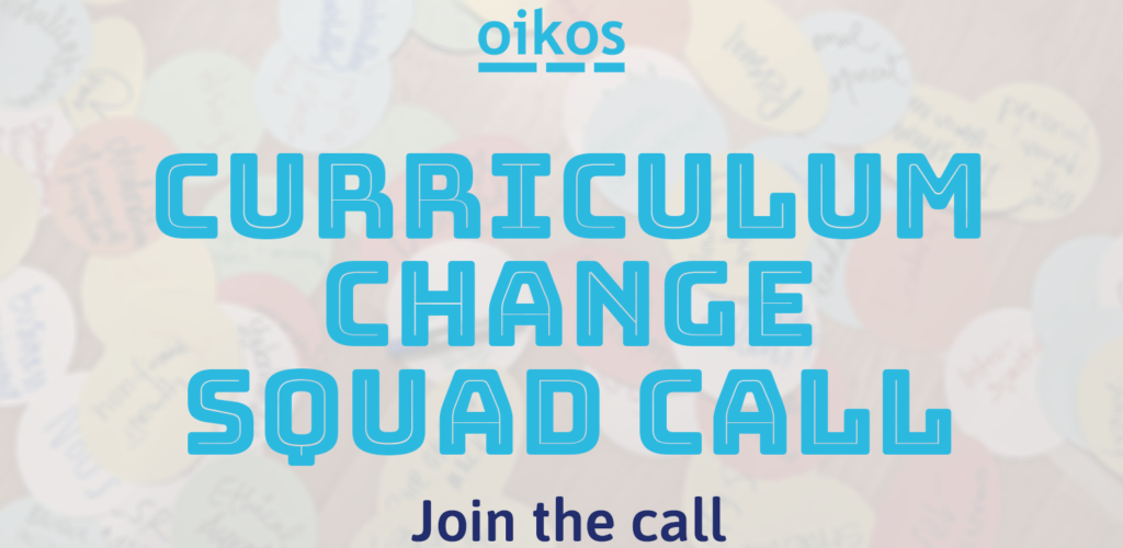 Join the Curriculum Change Squad Call